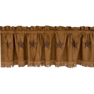 Luxury Star Valance HiEnd Accents - unique linens online