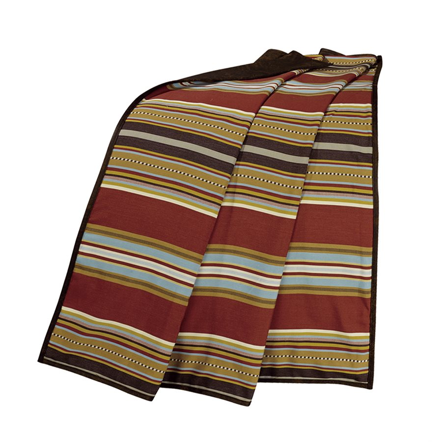 Calhoun Throw Blanket HiEnd Accents - unique linens online