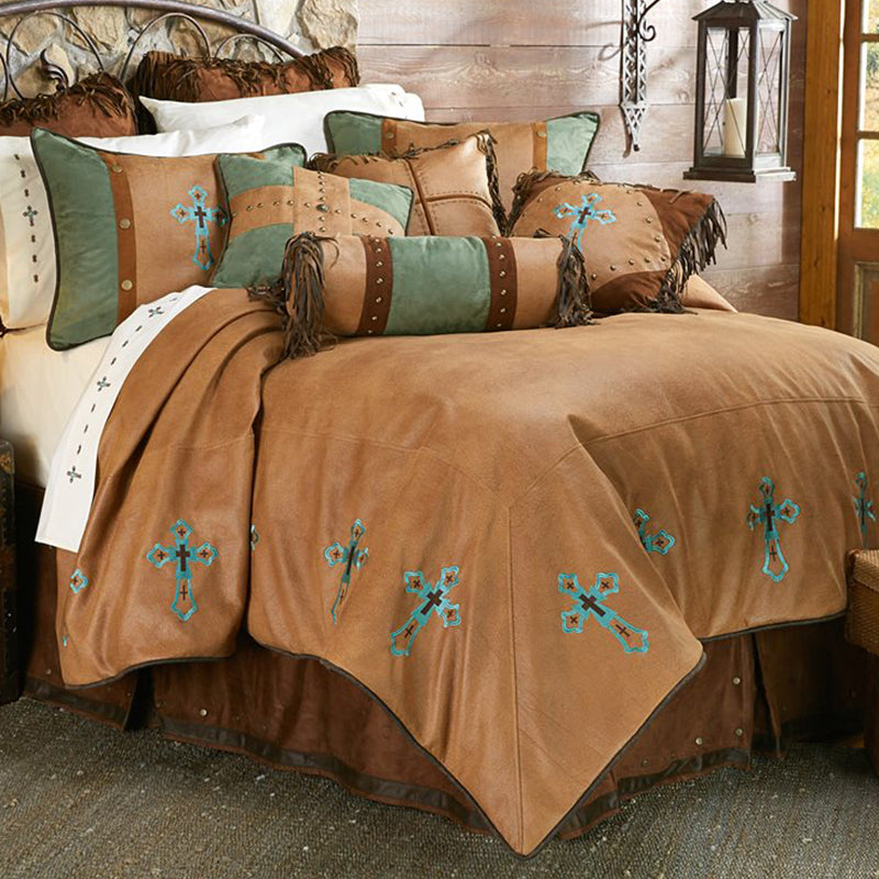 Las Cruces II Comforter Set HiEnd Accents - unique linens online
