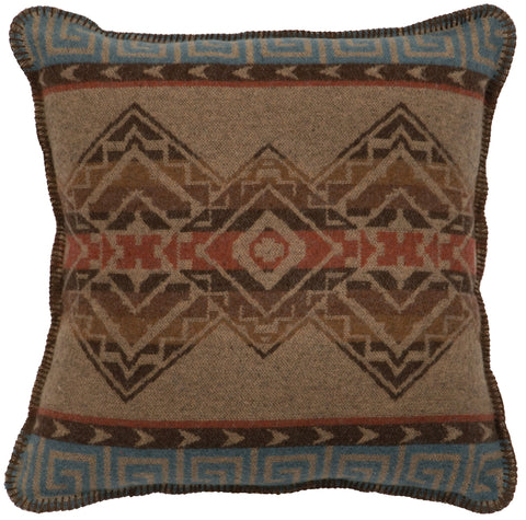 Bison Ridge Pillow Wooded River - unique linens online