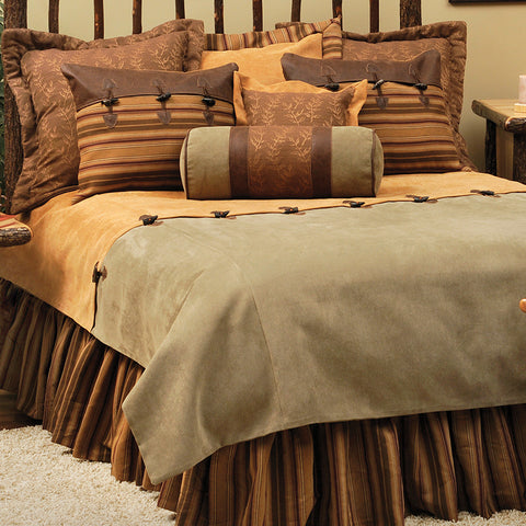 Autumn Leaf Duvets Wooded River - unique linens online