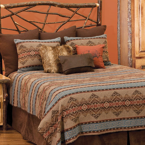 Bison Ridge 2 Bedspread Wooded River - Unique Linens Online