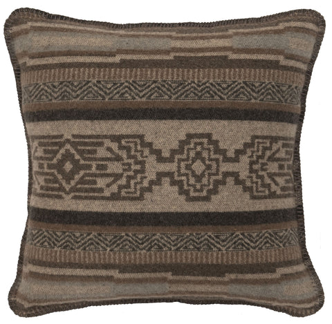 Lodge Lux Pillow Wooded River - unique linens online