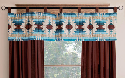 Southwest Harvest Valance Set Carstens - unique linens online