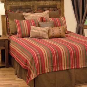 Bandera II Coverlet Wooded River - unique linens online