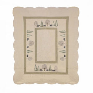 Bear Creek Throw - unique linens online