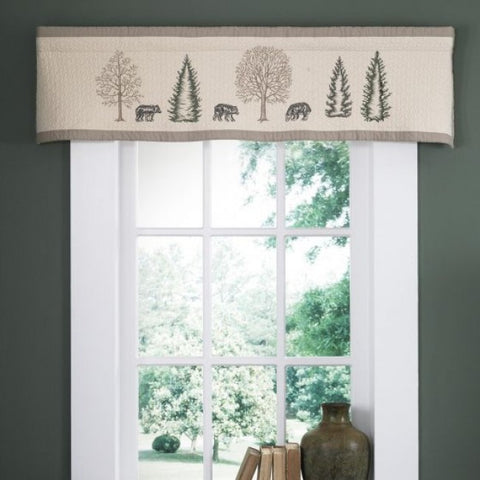 Bear Creek Valance - unique linens online