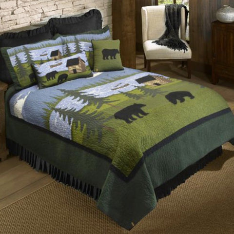 Bear River Quilt Set - unique linens online