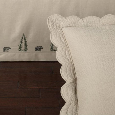 Bear Creek Bedskirt - unique linens online