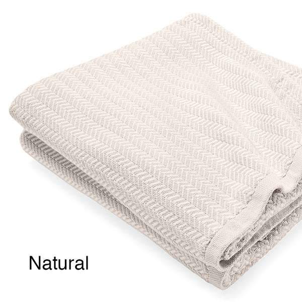 Chebeague Cotton Blankets - unique linens online