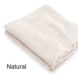 Chebeague Cotton Throws - unique linens online