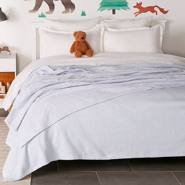 Thorndike Cotton Blankets - unique linens online
