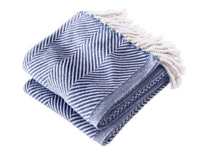 Monhegan Cotton Throws - unique linens online