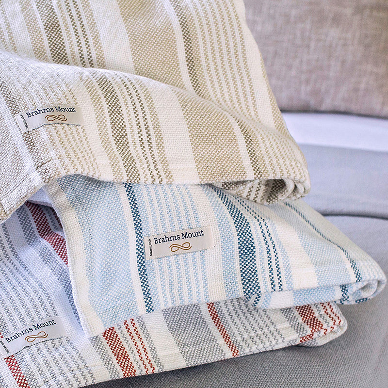 Newport Cotton Blankets - unique linens online