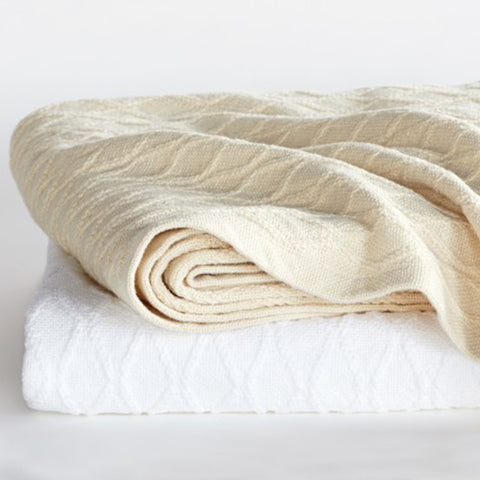Oxbow Cotton Blankets - unique linens online