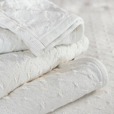Vanburen Cotton Blankets - unique linens online