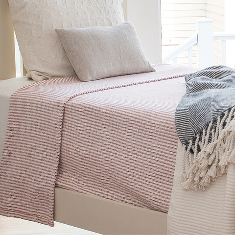 Winslow Cotton Blankets - unique linens online