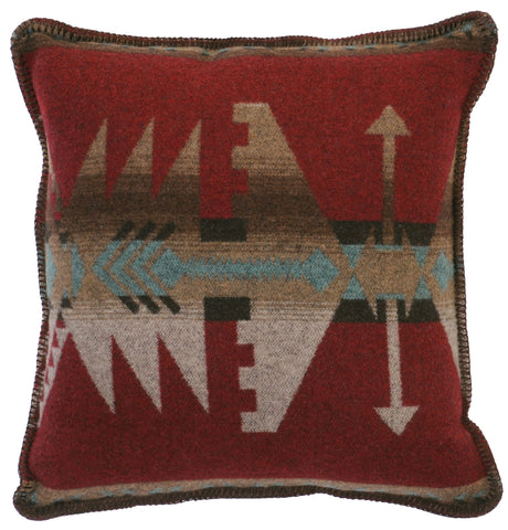 Yellowstone 3 Pillow Wooded River - unique linens online