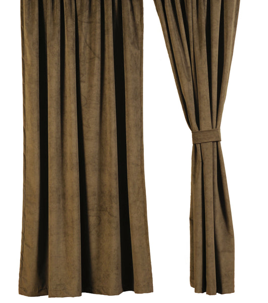 Cabin Bear Drape Sets Wooded River - unique linens online