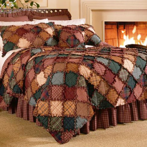 Campfire Quilted Set - unique linens online