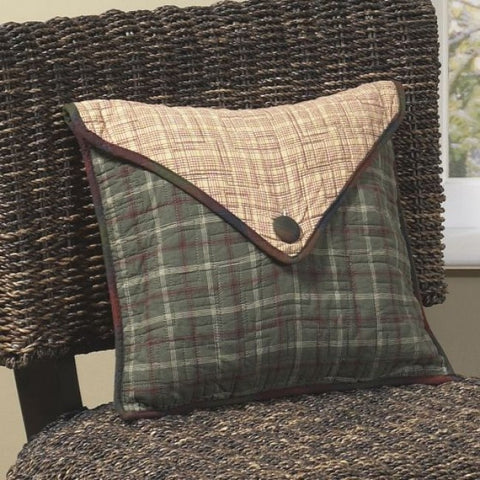 Campfire Square Envelope Pillow - unique linens online