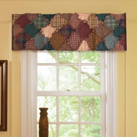 Campfire Quilted Valance - unique linens online