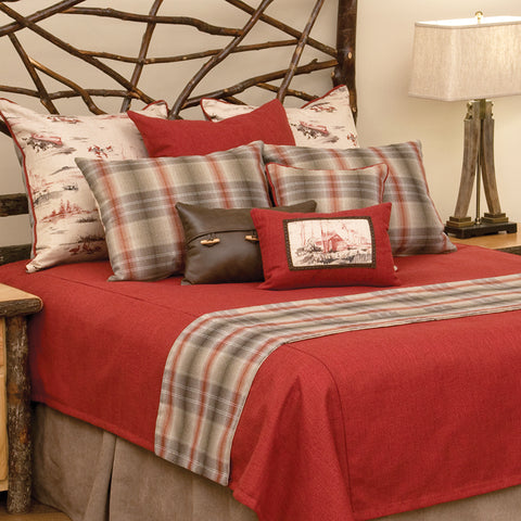Cimarron Coverlet Wooded River - Unique Linens Online