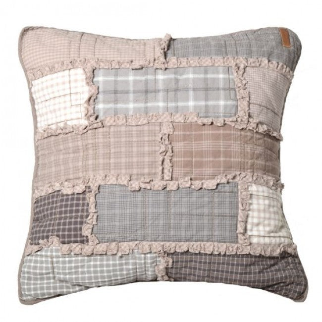Smoky Cobblestone Pillow - unique linens online