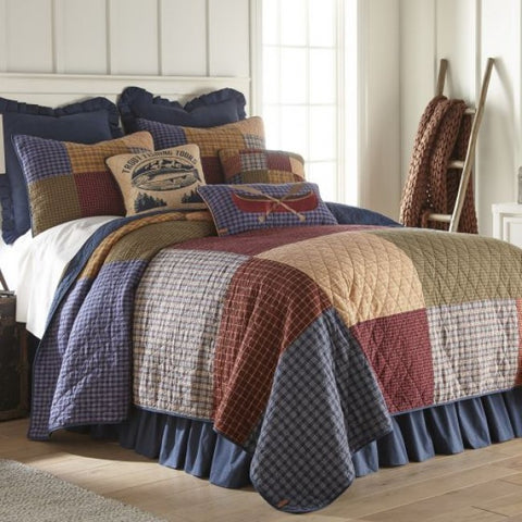 Lakehouse Cotton Quilt Set - unique linens online