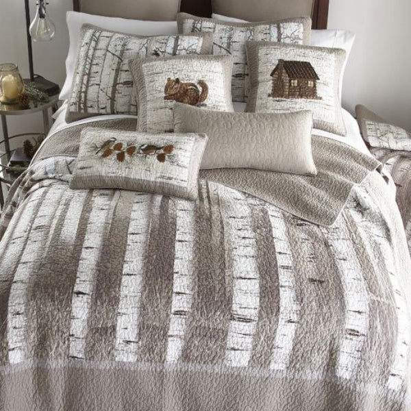 Birch Forest Quilt Set - Unique Linens Online