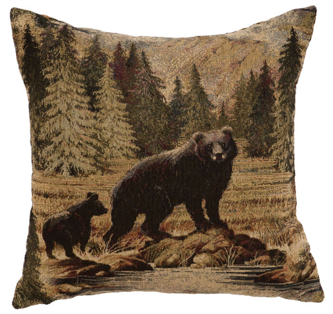 Hudson II Decor Pillow Wooded River - unique linens online