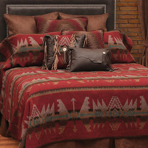 Yellowstone  Bedspread Wooded River - unique linens online