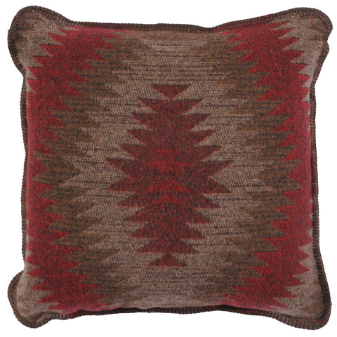 Yellowstone 3 Wampum Pillow Wooded River - unique linens online