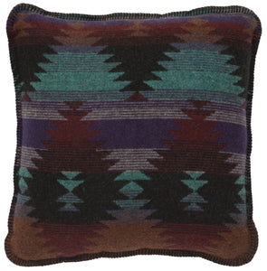 Painted Desert III Pillow Wooded River - unique linens online