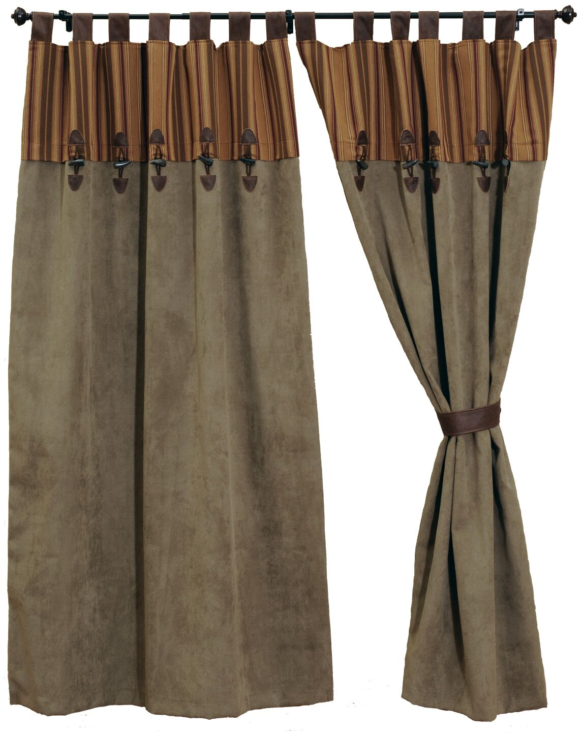 Autumn Leaf Drape Sets Wooded River - unique linens online