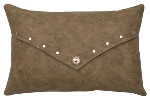 Socorro II Small Oblong Pillow Wooded River - unique linens online