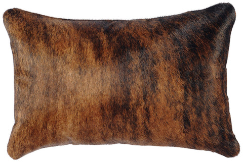 Leather Pillow Wooded River WD1952 - unique linens online
