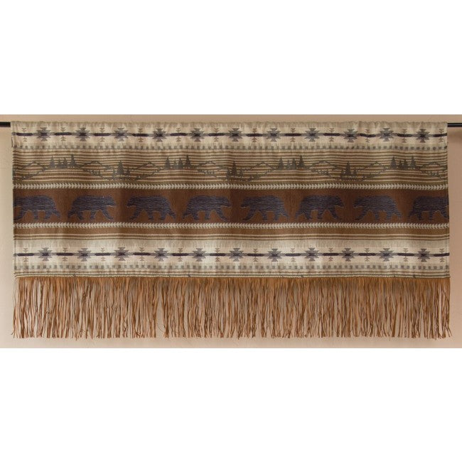 Rugged Earth Valance Carstens - unique linens online