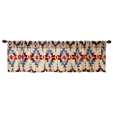 Blue River Southwest Valance Carstens - unique linens online