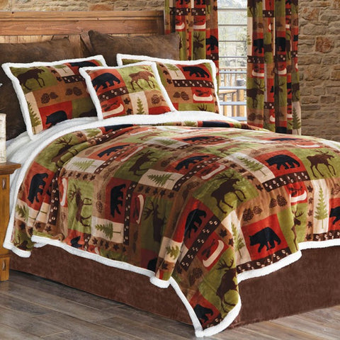 Patchwork Lodge Collection Carstens - unique linens online