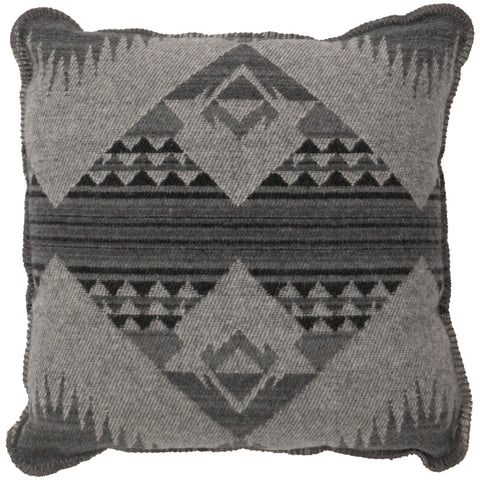 Geronimo Haze Pillow Wooded River - unique linens online