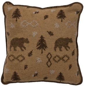 Gunnison Pillow Wooded River - unique linens online