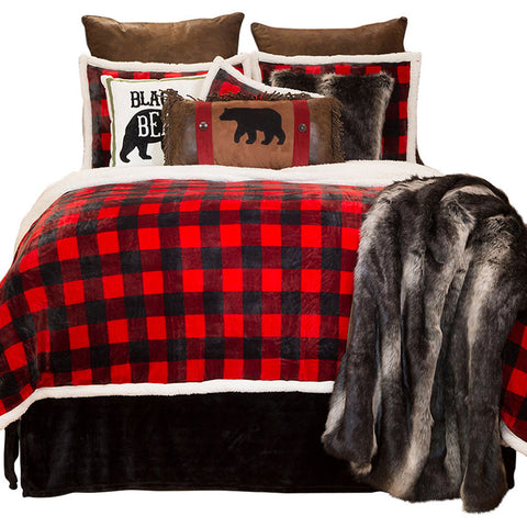 Lumberjack Plaid Collection Carstens - unique linens online