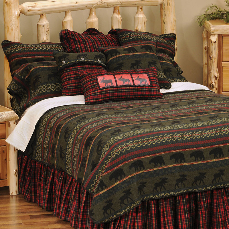 McWoods 1 Bedspread Wooded River - unique linens online