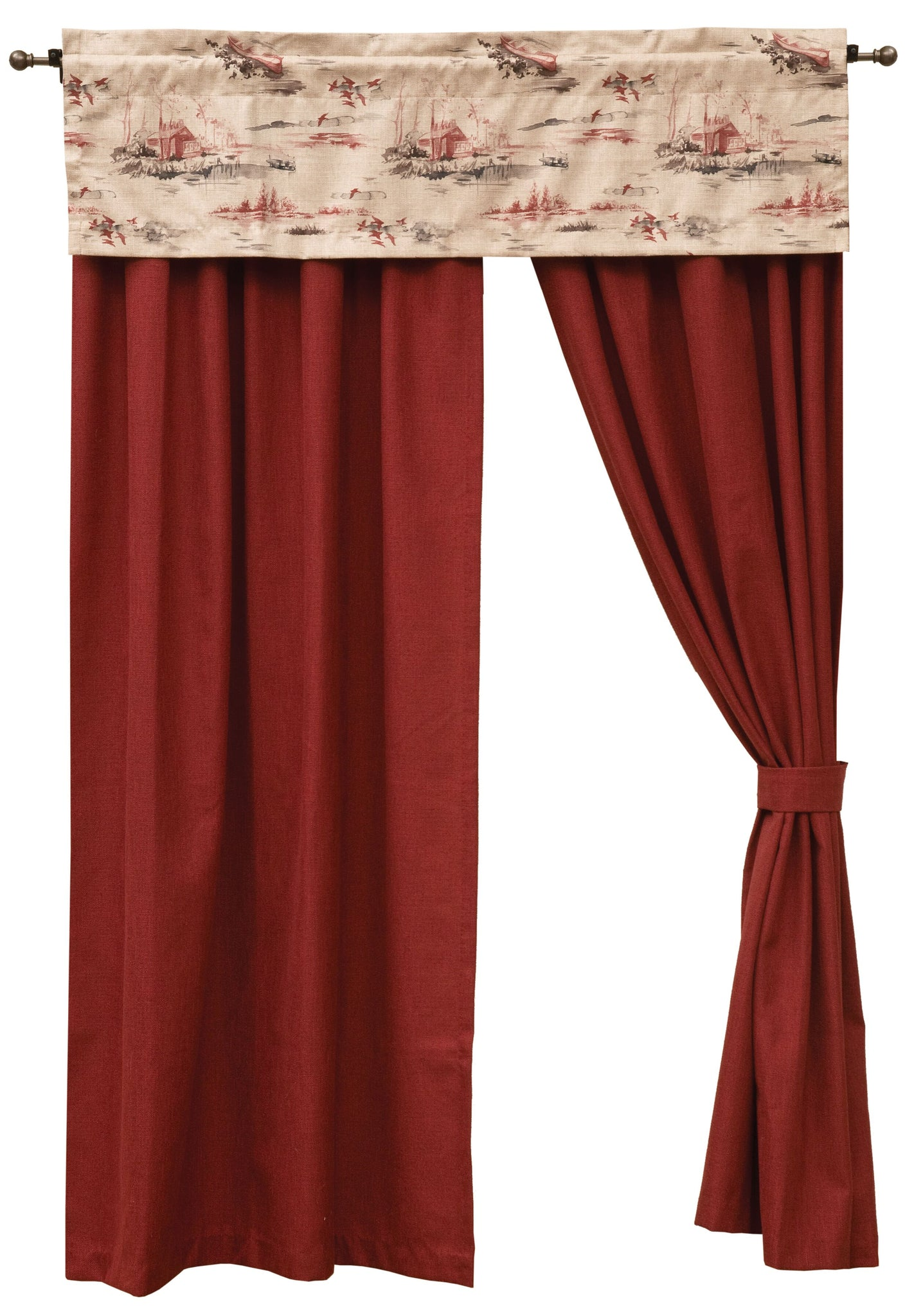 Cimarron Drape Sets Wooded River - unique linens online