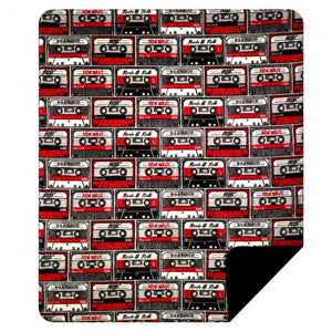 Mix Tapes Denali Blanket - Unique Linens Online