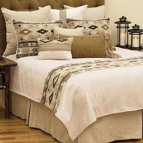 Mountain Storm Coverlet Wooded River - Unique Linens Online