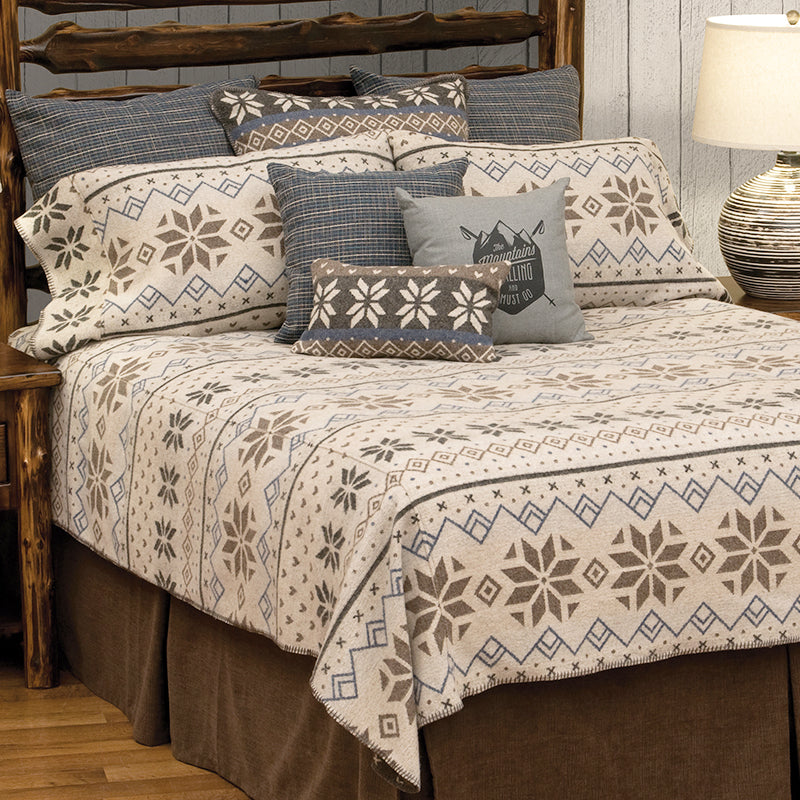 Neiva Bedspread Wooded River - unique linens online