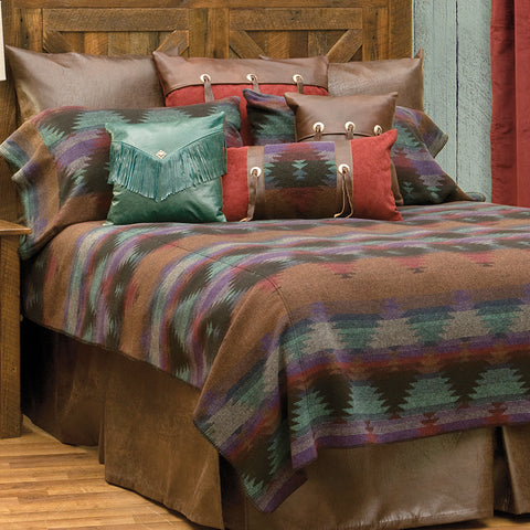 Painted Desert III Bedspread Wooded River - unique linens online