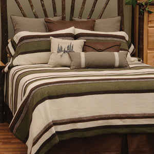 Sage Valley Wooded River - unique linens online